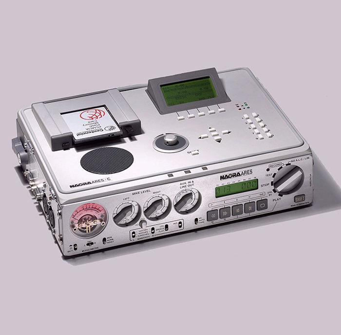 1995 – NAGRA ARES C-Aufnahmegerät