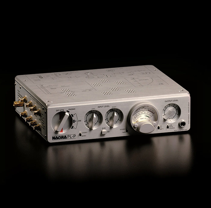 1997 - NAGRA PL-P first preamplifier tube statement best sound hifi preamp