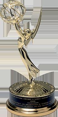 Emmy awards statue statuette Stefan Kudelski