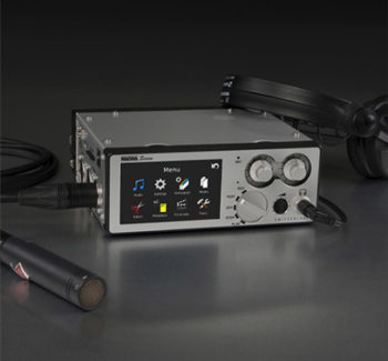 Nagra Seven 记者 broadcast recorder 2 channel handheld recording music front microphone headphone menu