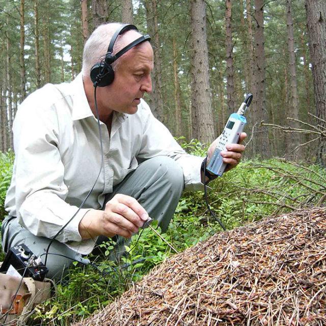 Prise de son Nagra recording ARES P termites bugs sound field