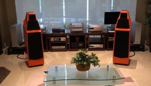 Audio Salon Florida set up nagra dealer coral gable