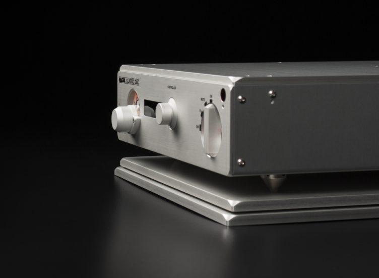 Nagra Classic DAC modulómetro frontal negro peclette