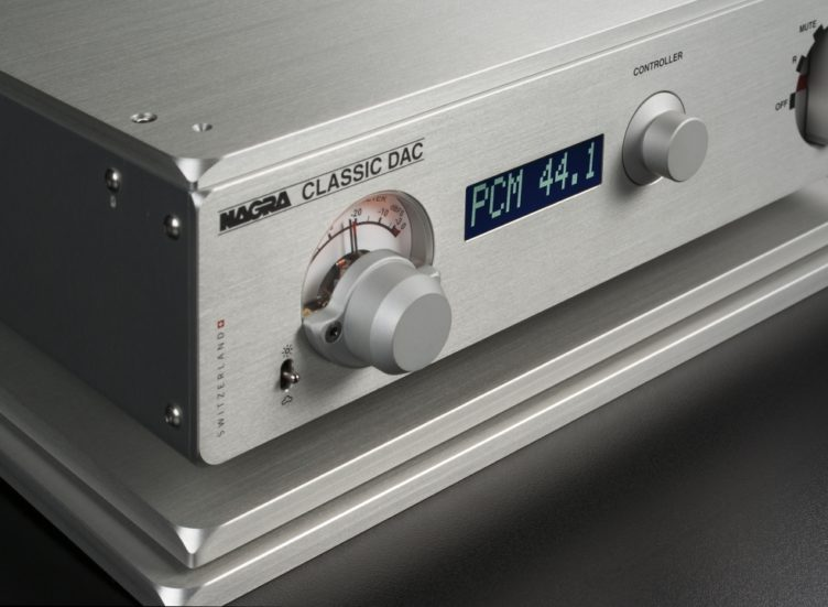 Nagra Classic DAC front black modulometer peclette vfs