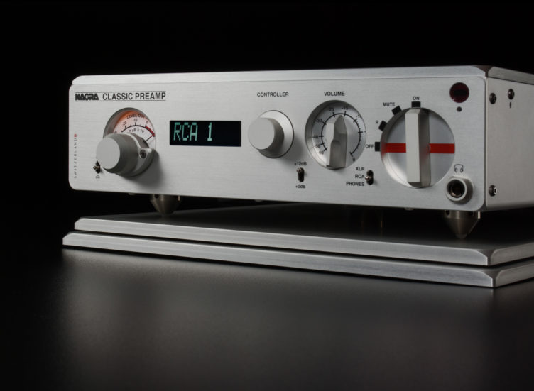 Nagra Classic Preamp preamplifier tube best modulometer vfs front