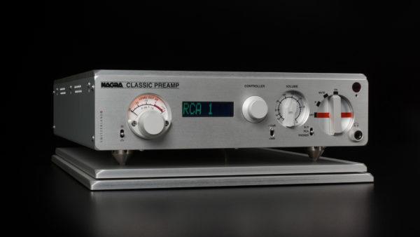 Nagra Classic Preamp mejor preamplificador de válvula modulómetro vfs frontal