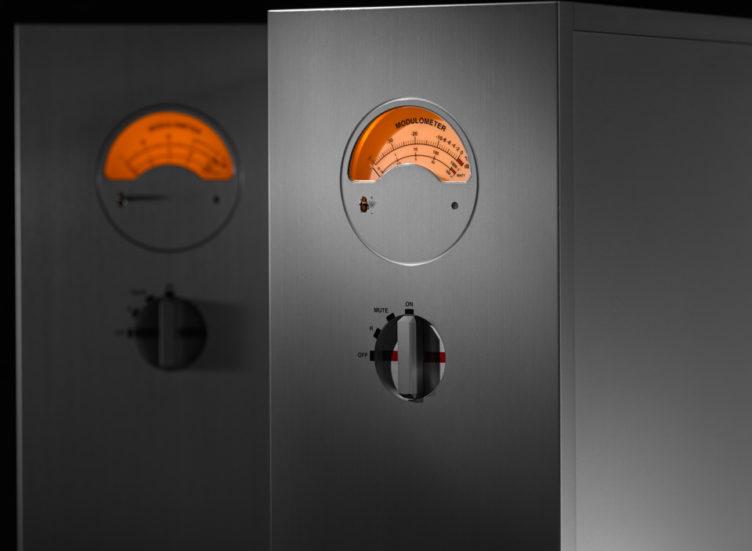 HD AMP pair modulometer peclette on Nagra