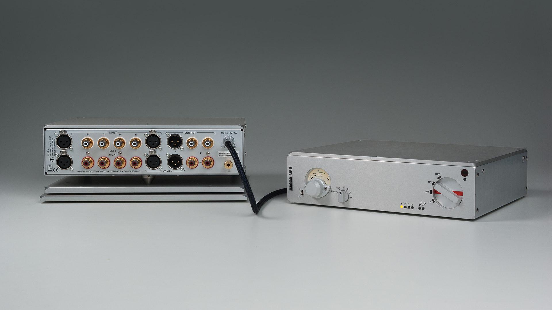 Nagra MPS Multiple power supply front modulometer peclette battery