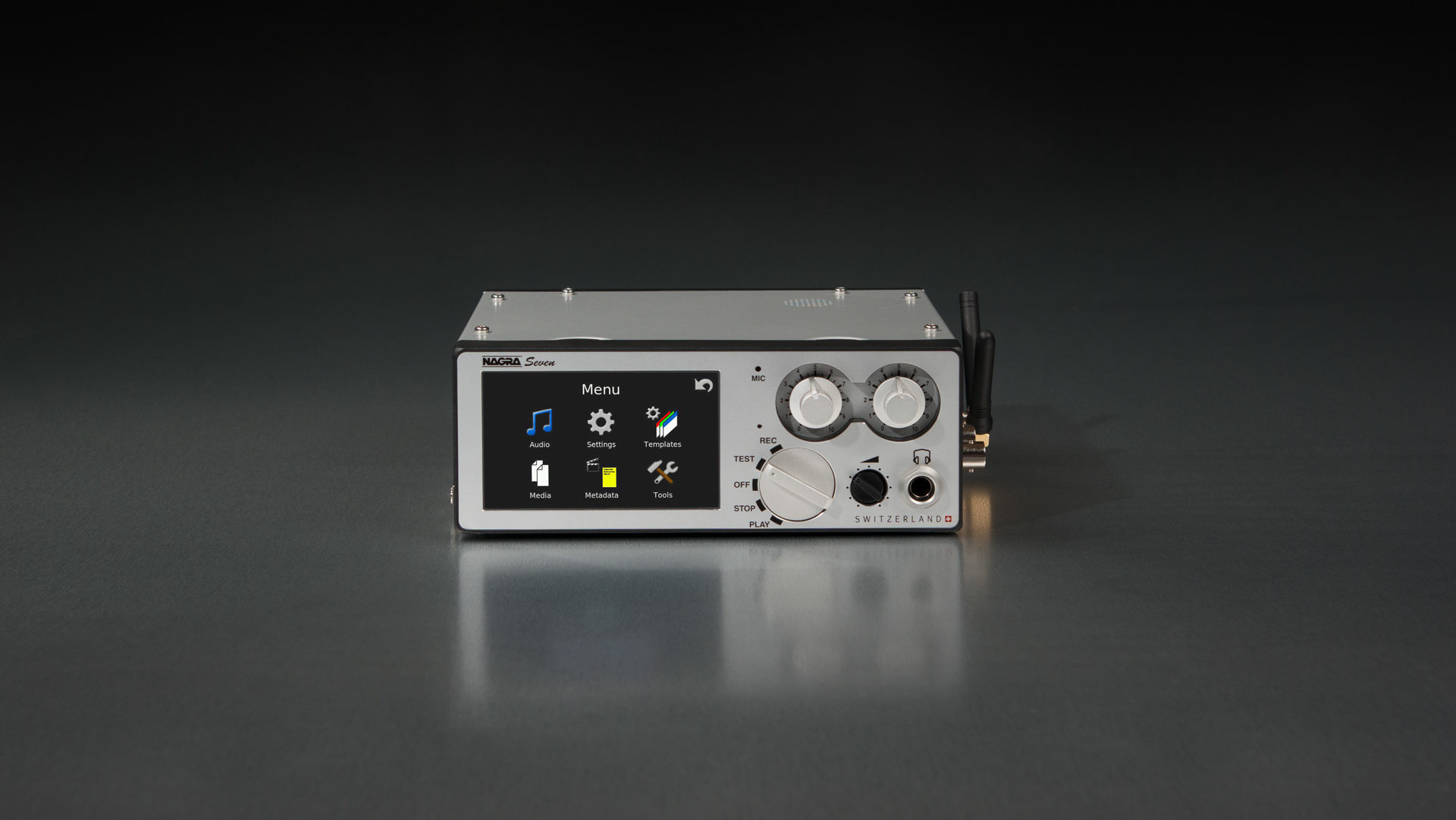 Nagra seven front time code wifi 3G 4G gsm
