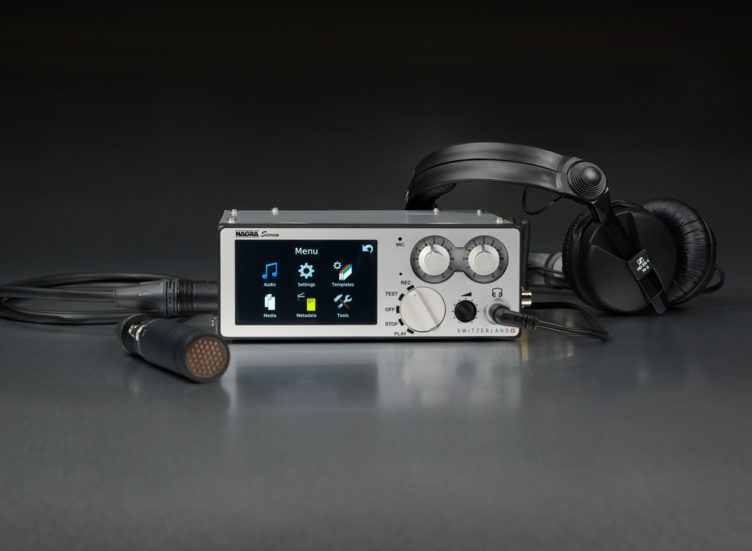 Nagra seven front time code wifi 3G 4G gsm headset microphone