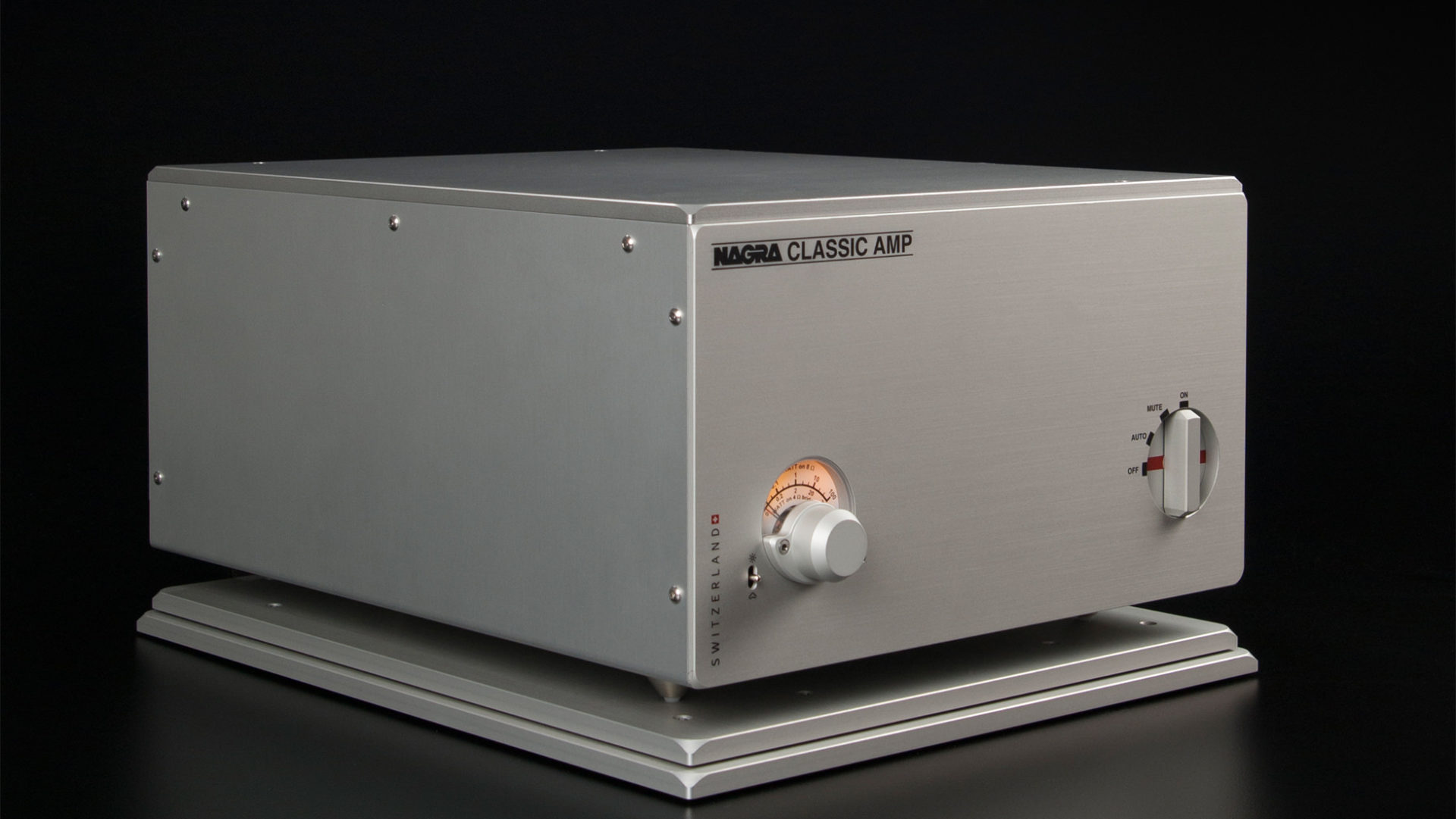 Nagra classic AMP modulo best high end amplifier front vfs