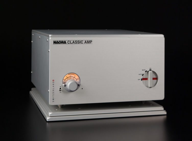 Nagra Classic Amp solid state stereo Amplifier Mosfet transistor transformer best front modulometer vfs