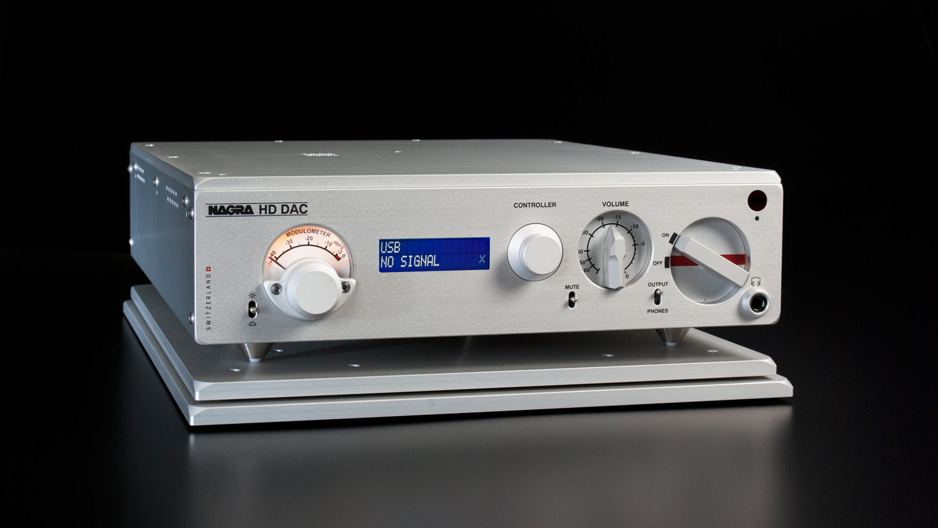 Nagra HD DAC modulo best digital to analog converter front