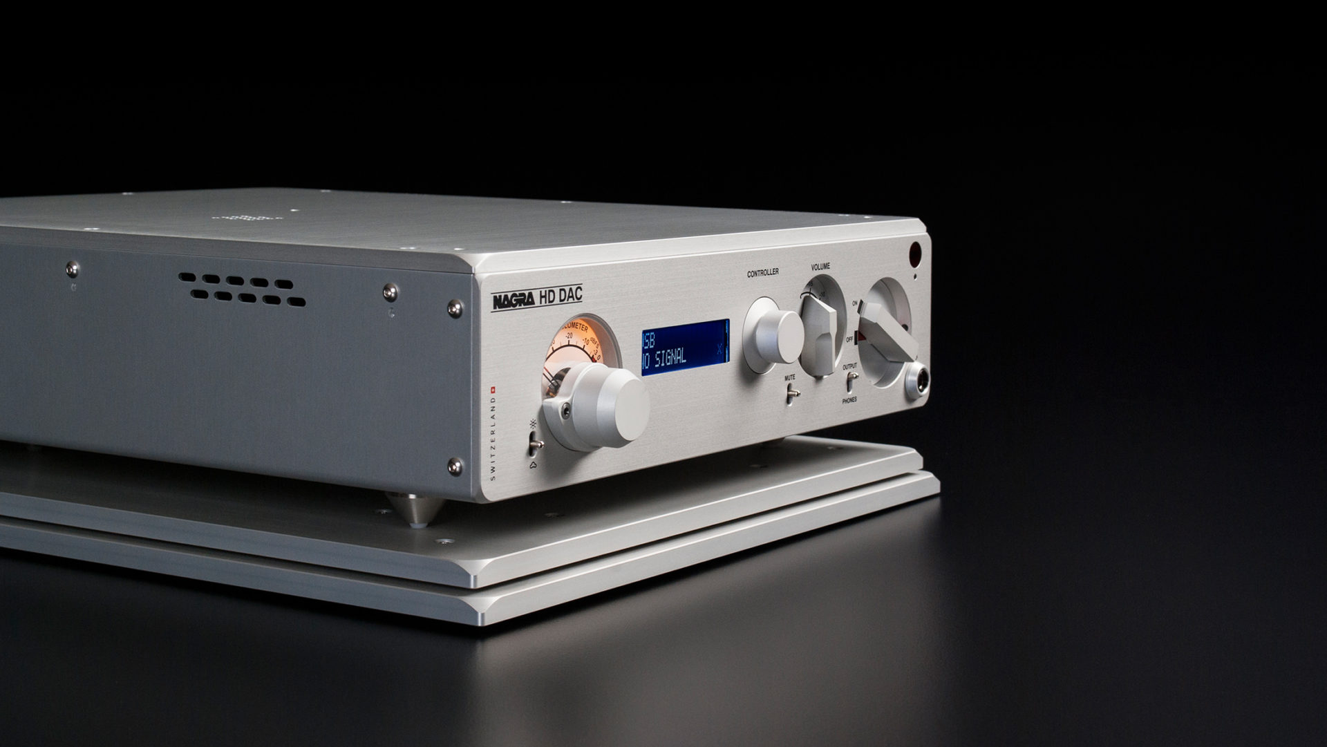 Nagra HD DAC modulo best digital to analog converter side
