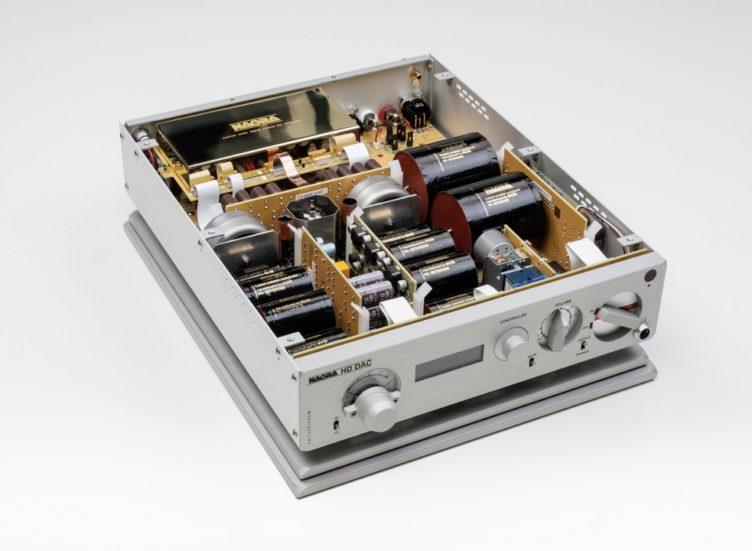 Nagra HD DAC white inside modulometer peclette vfs