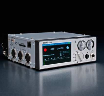 Nagra seven time code wifi 3G 4G gsm front play rec