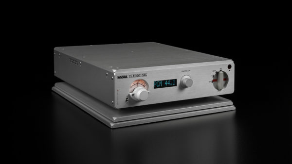 Nagra classic preamp front vfs source modulometer