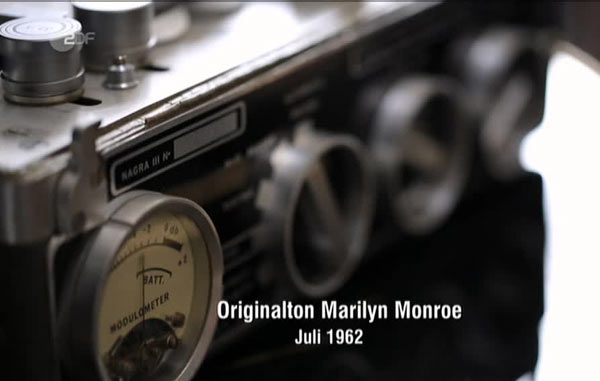 Nagra III Interview Marilyn Monroe Chanel
