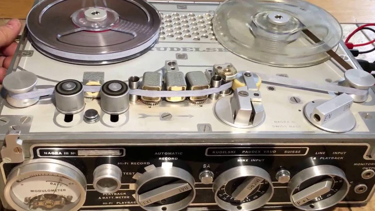 Nagra III recorder legendary legend two tracks mono