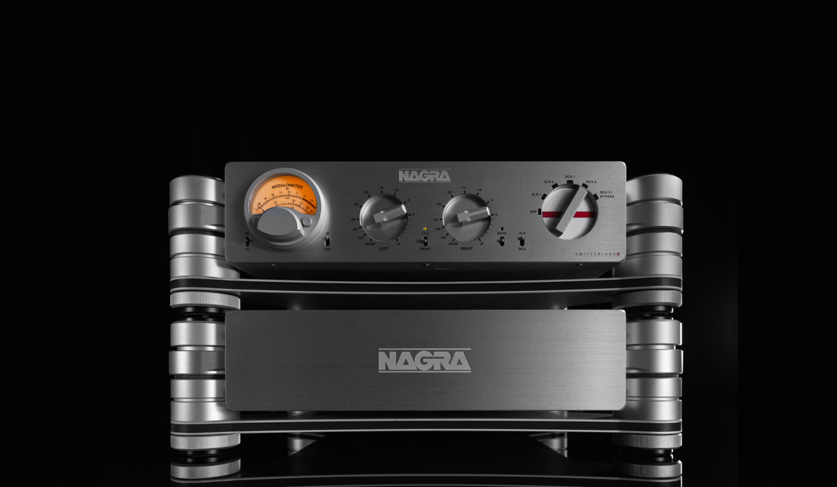 HD PREAMP modulometer peclette Nagra HD PSU