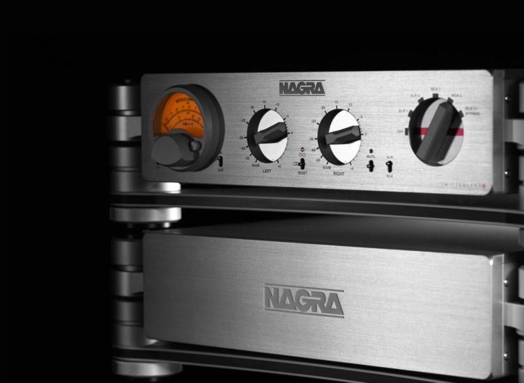 HD 프리앰프 모듈로미터 peclette Nagra HD PSU 전면 다크