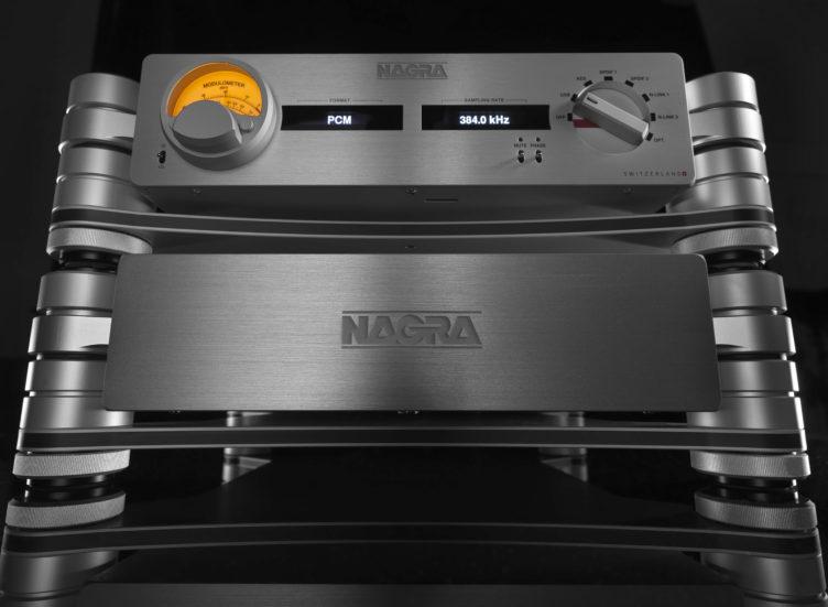 Nagra HD DAC X HD PSU front modulometer peclette