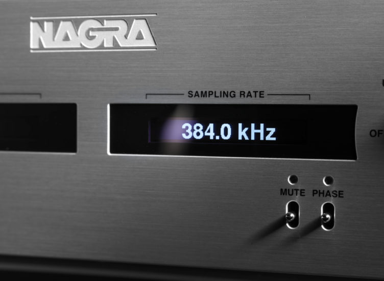 HD DAC X HD PSU front sampling rate