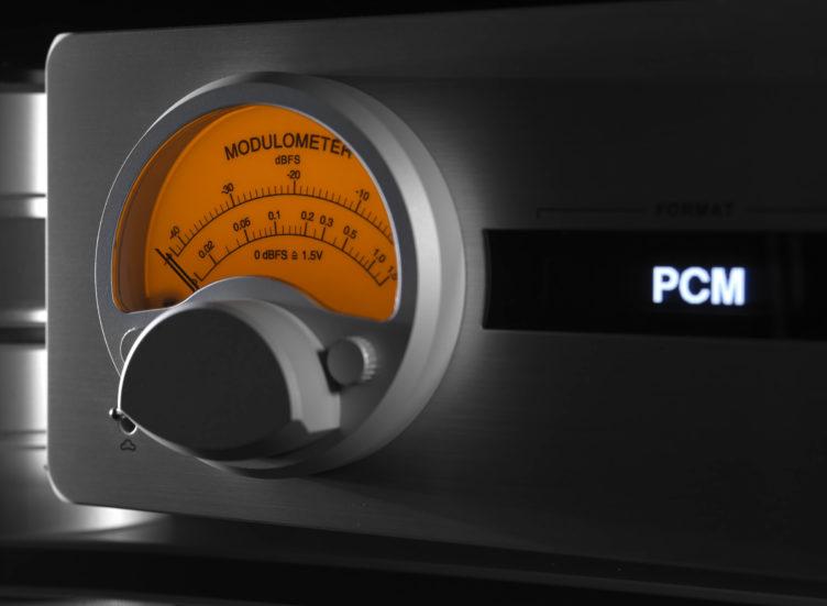 HD DAC X modulometer