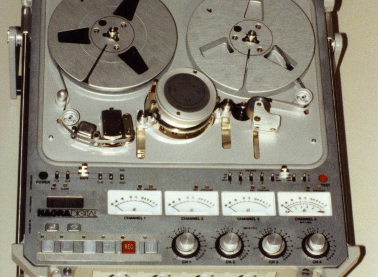 1992-NAGRA D Multi-channel digital audio recorder movie cinema