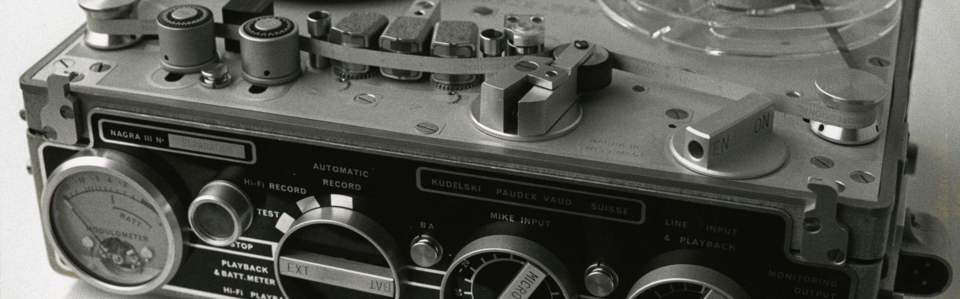 Nagra iii 1st portable recorder