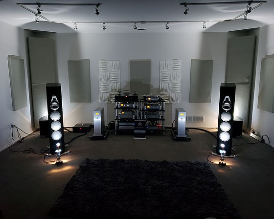 David Michael Audio dealer nagra set up