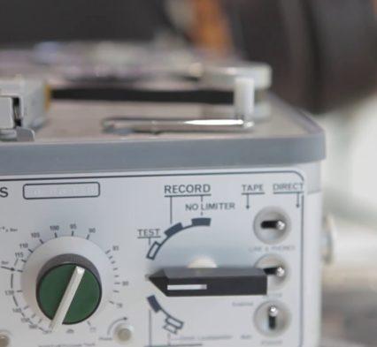 Nagra IV-S selector peclette miniature Youtube
