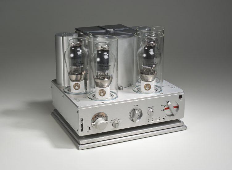 Nagra 300B 300p 300i integrated power amplifier front tube modulometer vfs