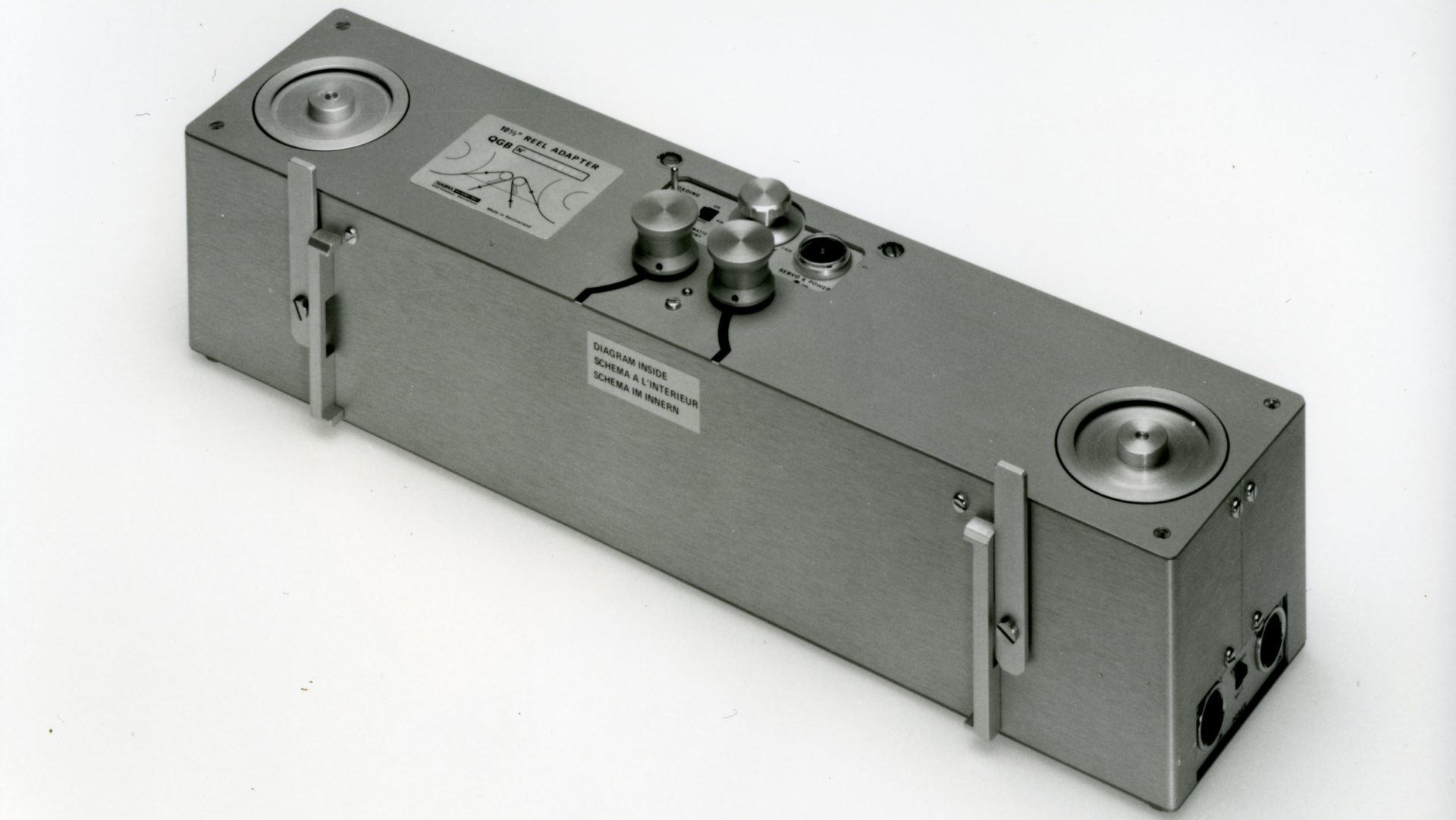 "Nagra QGB IV recorder extention studio 10.5"" tapes NAB AEG cinema"