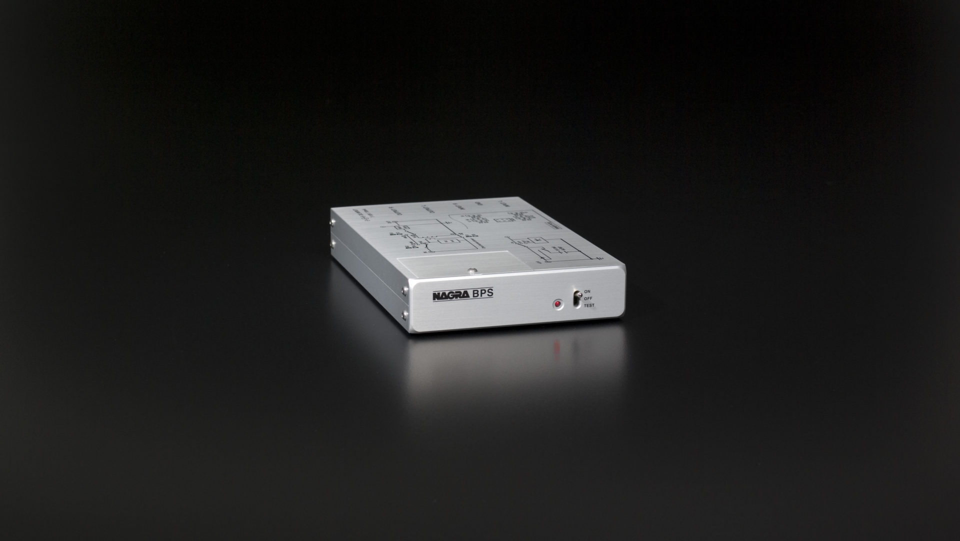 BPS phono stage preamplifier front