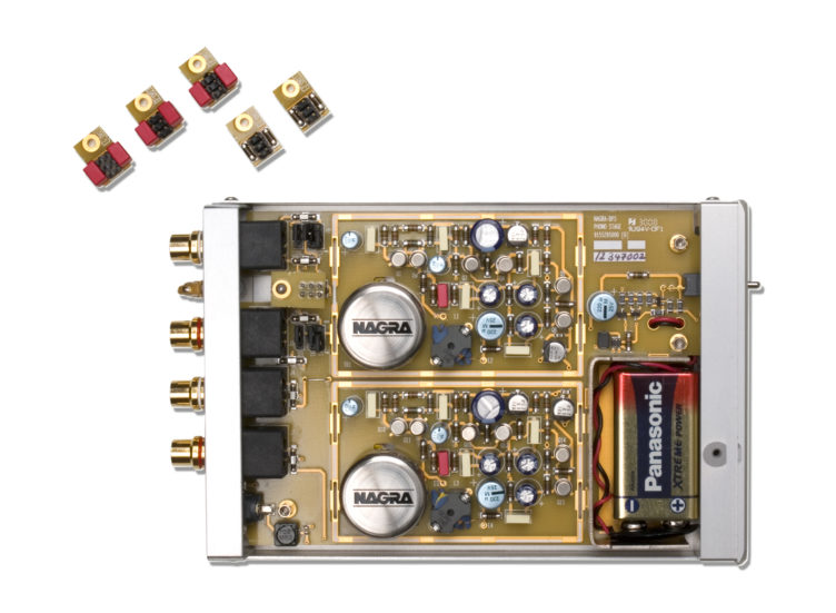 BPS phono stage preamplifier battery