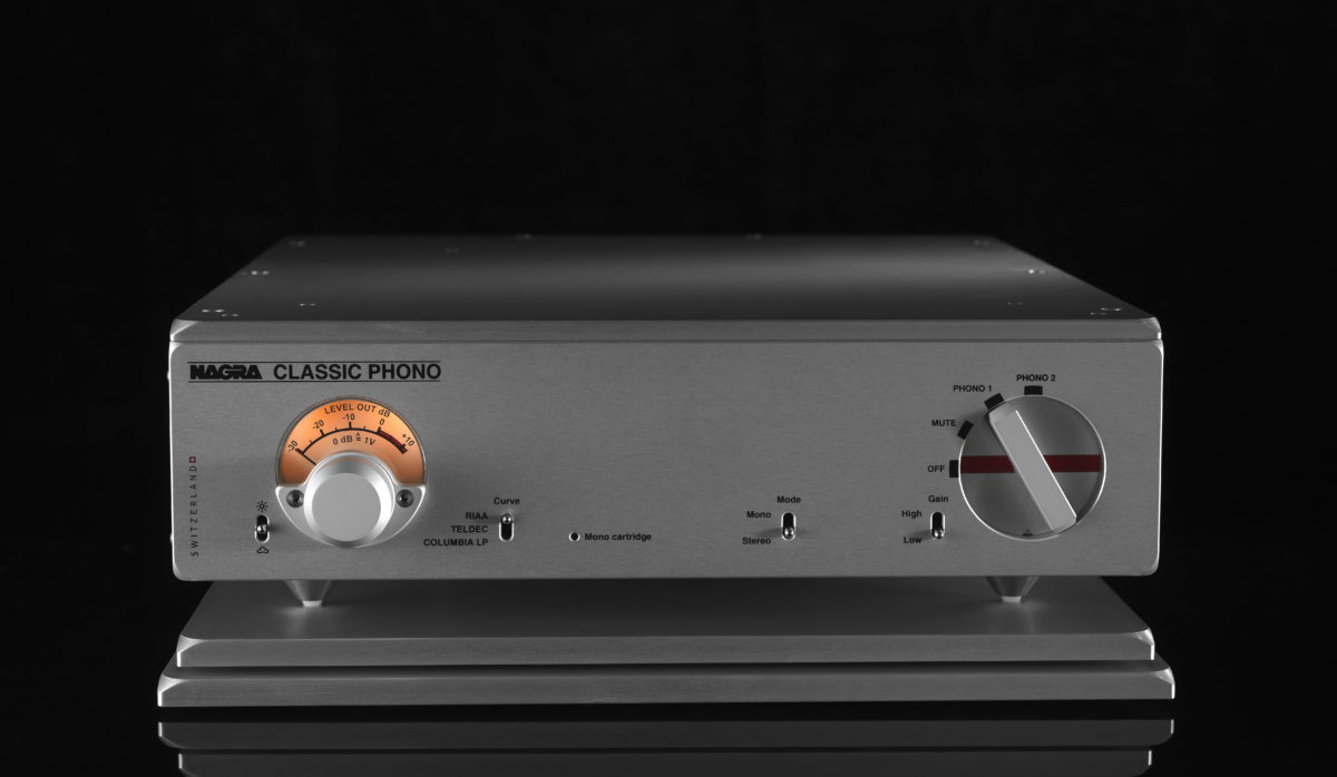 Nagra Classic Phono preamplifier tube best front vfs