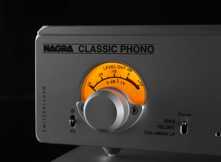 Nagra Classic Phono preamplifier tube best top modulometer