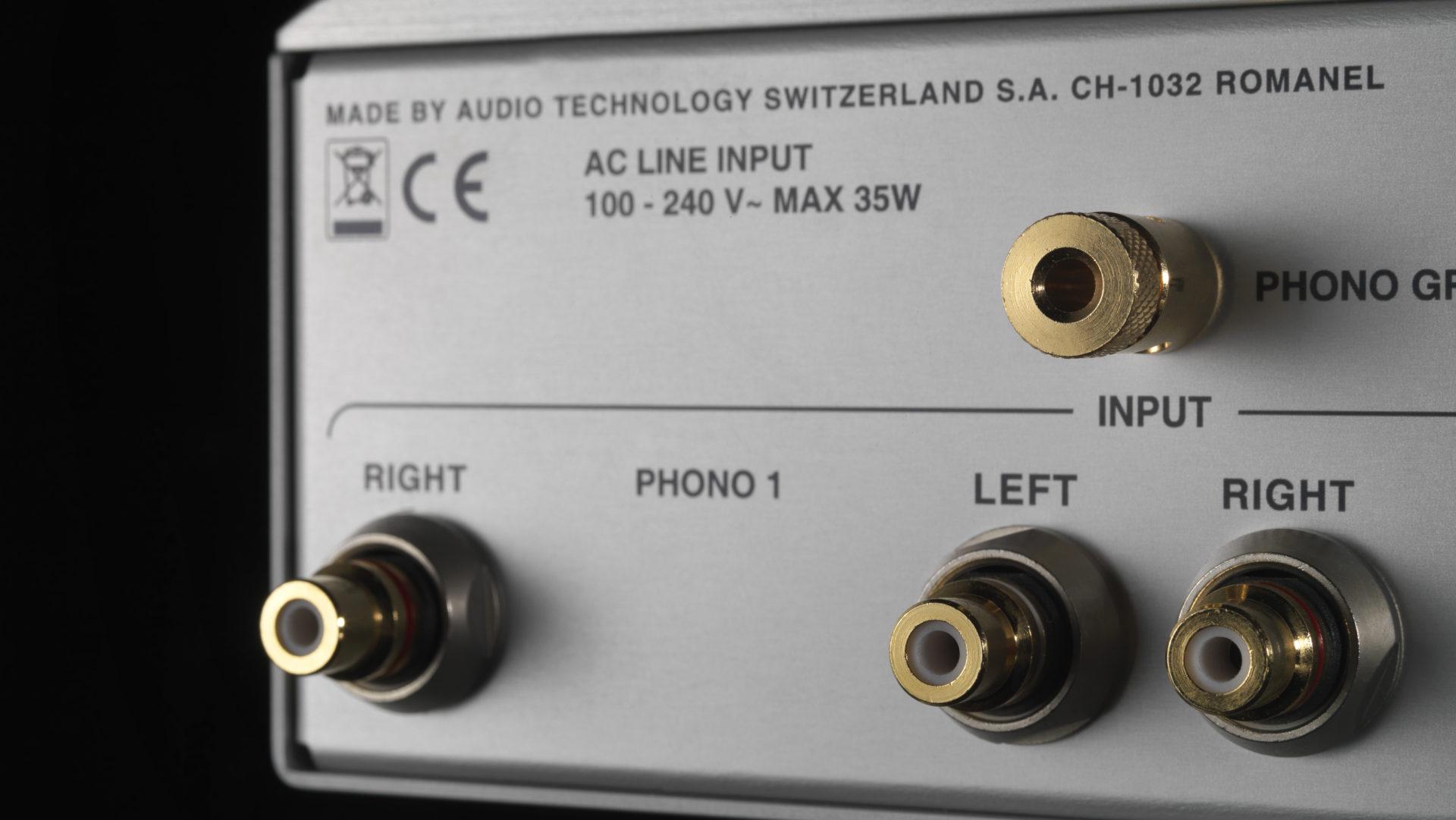 Nagra Classic Phono 프리앰프 tube best top back connectors rca xlr