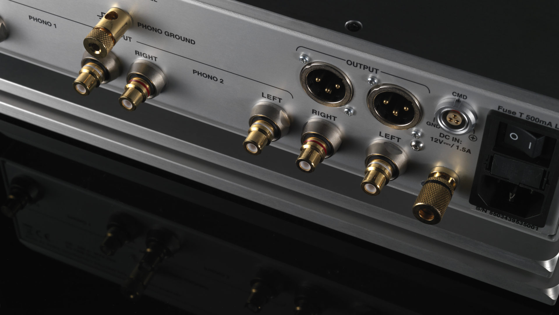 Nagra Classic Phono preamplifier tube best top back connectors rca xlr