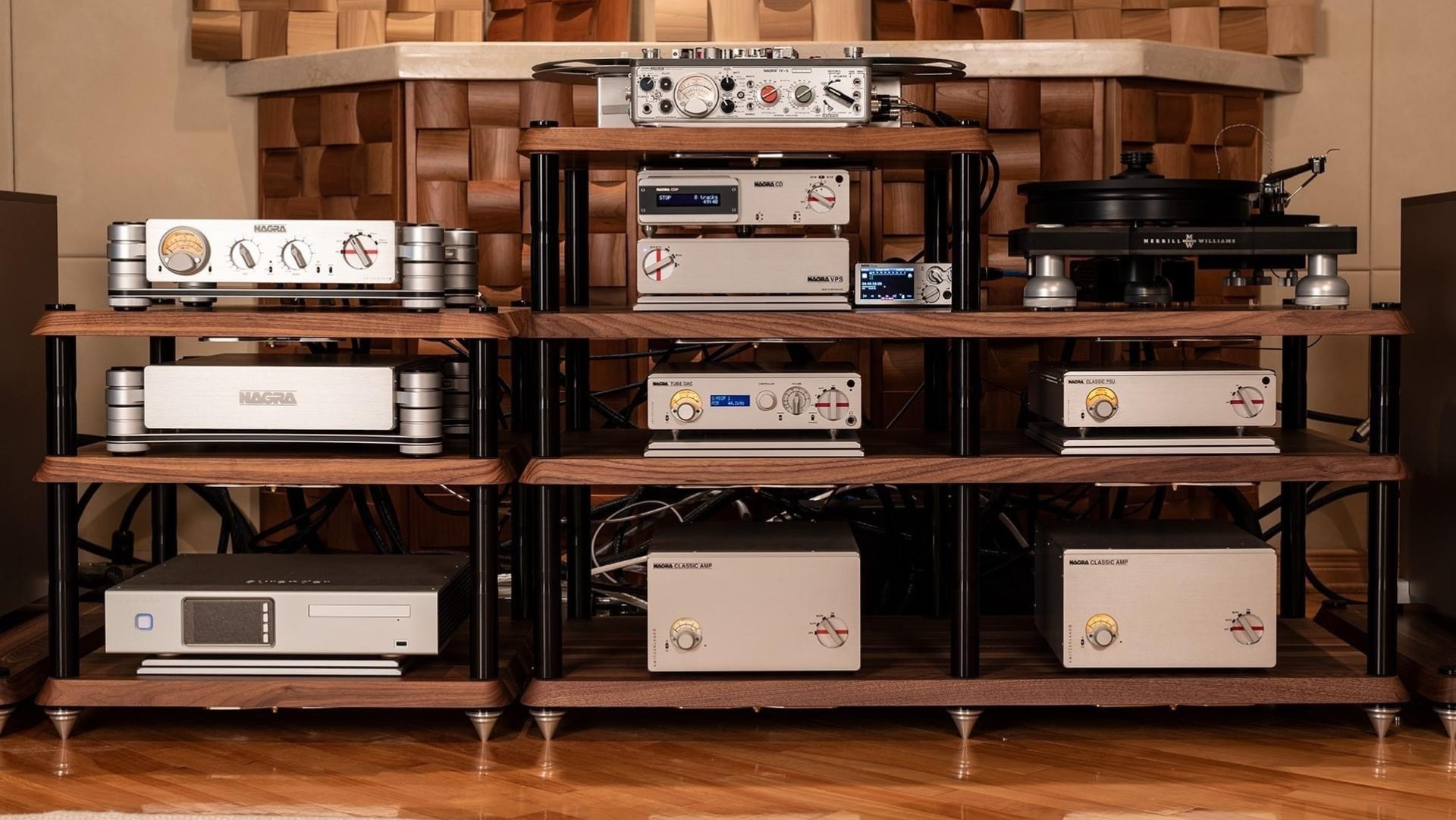 Filtronique reference NAGRA HD dealer Montreal Quebec Canada AMP PREAMP IV-S CD VPS Modulum classic