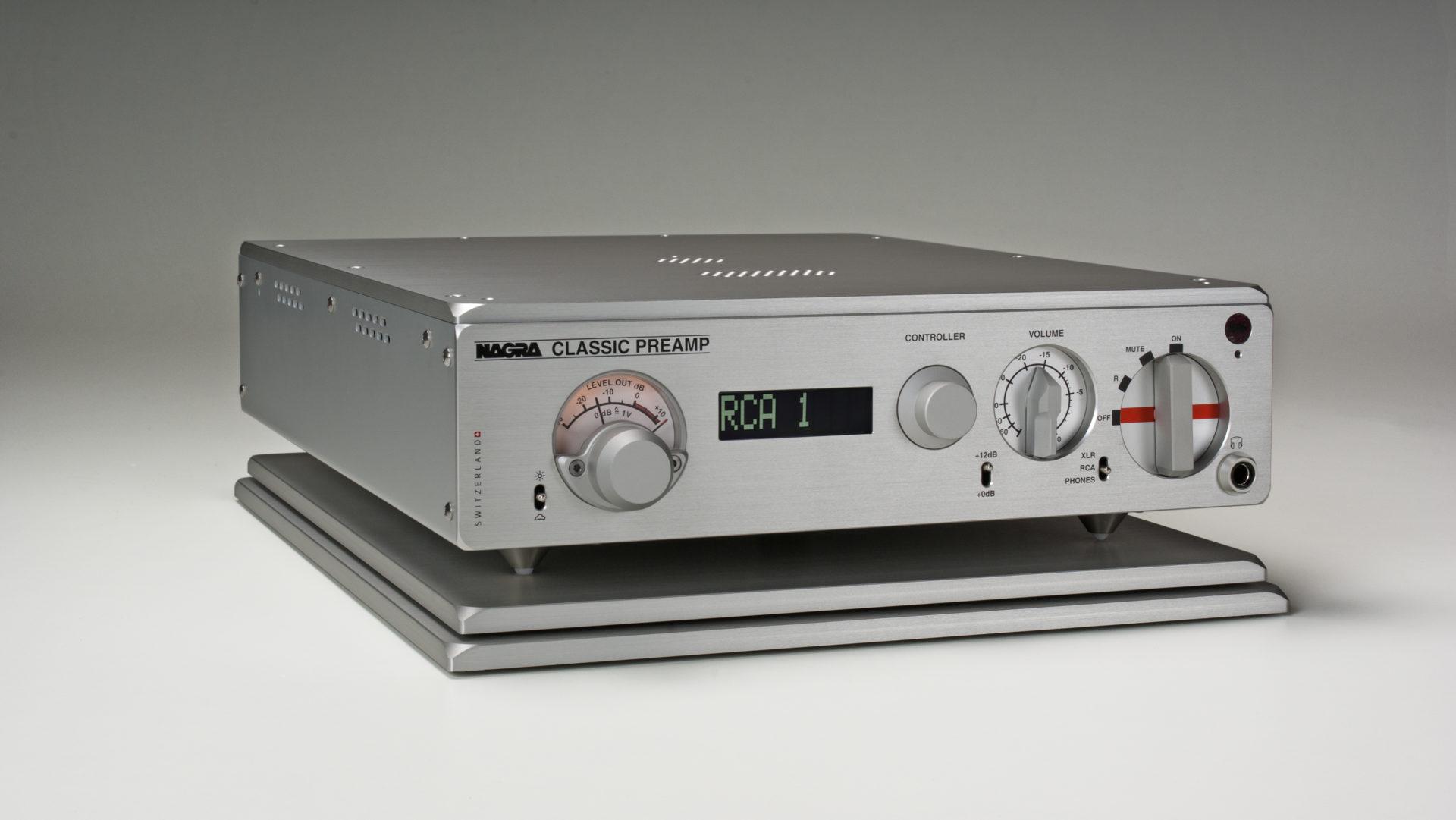 Nagra Classic Preamp preamplifier tube best modulometer vfs front